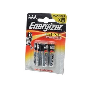 Батарейка Energizer МАХ POWER SEAL LR03/286 BL6