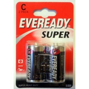 Батарейка Eveready R14/343 BL2