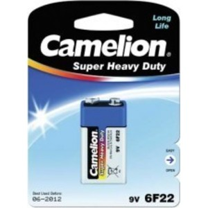 Батарейка Camelion SUPER BLUE 6F22 BL1